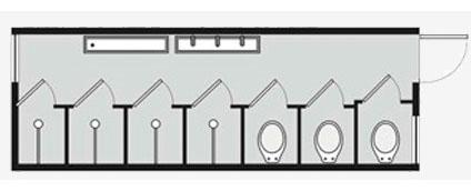 Container para locação e Venda - PP 9/3 WC - 4 CH