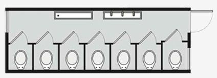 Container para locação e Venda - PP 9/7 WC