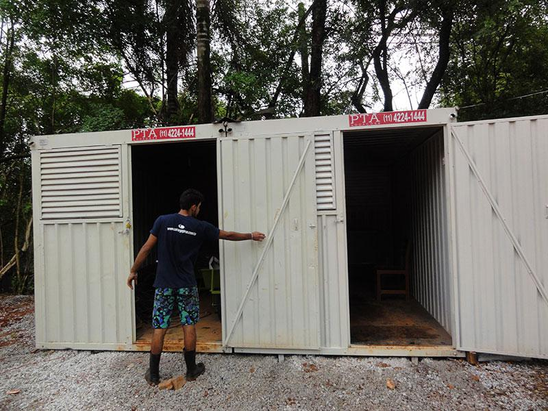 Aluguel de Container Preço