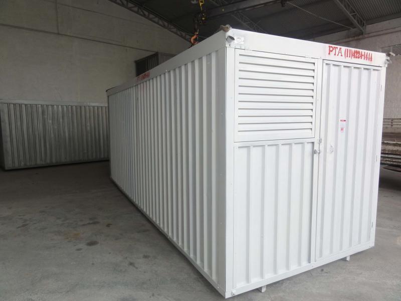 Aluguel de container revestido