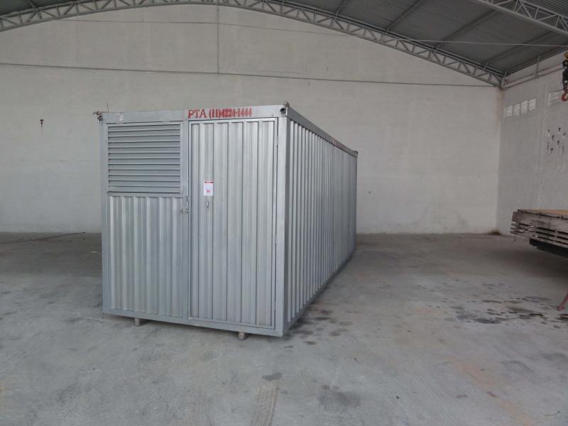 Aluguel de container revestido em sp