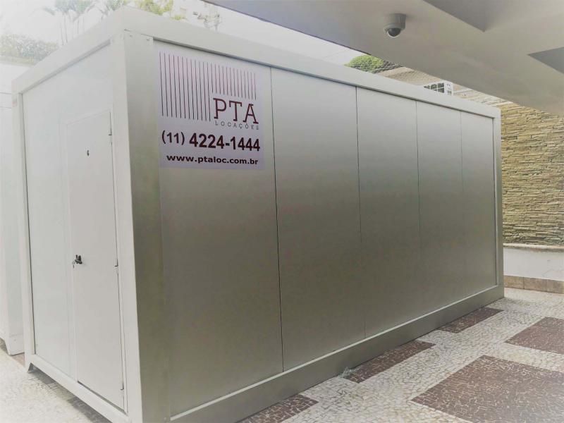 Aluguel de container termo acústico preço