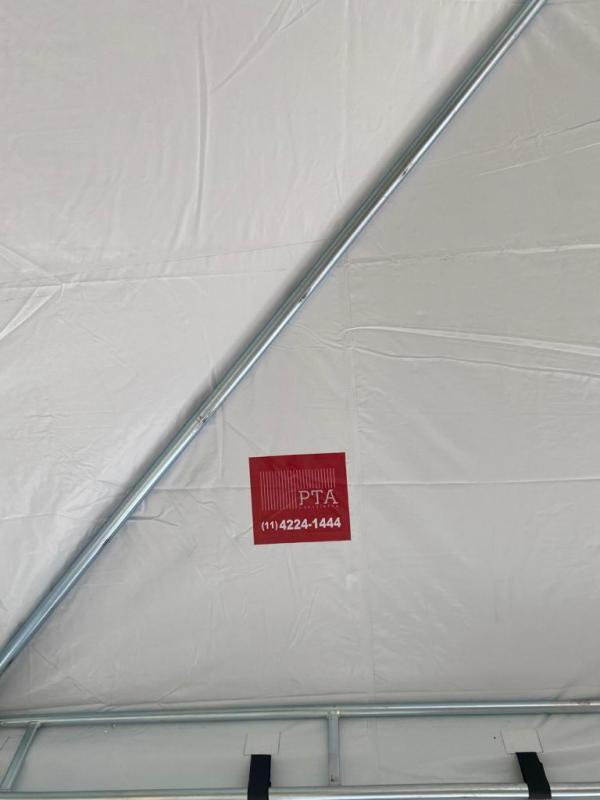 Aluguel de tenda piramidal 10x10