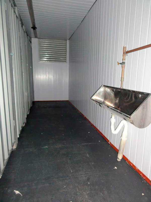 Banheiro Container para