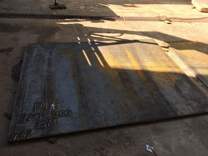 Chapa de aço para tráfego pesado