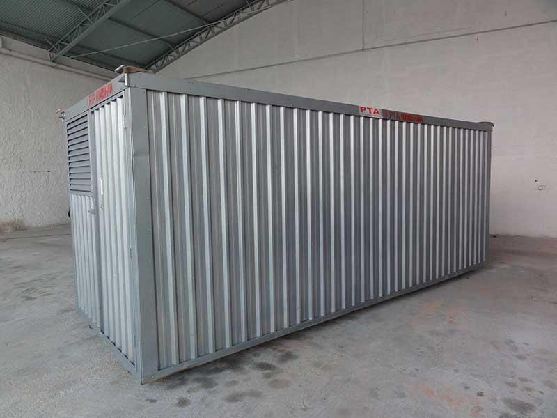 Container Almoxarifado com Prateleiras