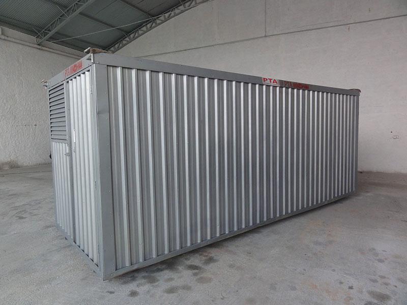 Container para Guardar Material de Construção