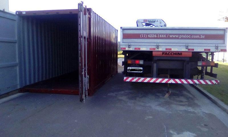 Container marítimo venda sp