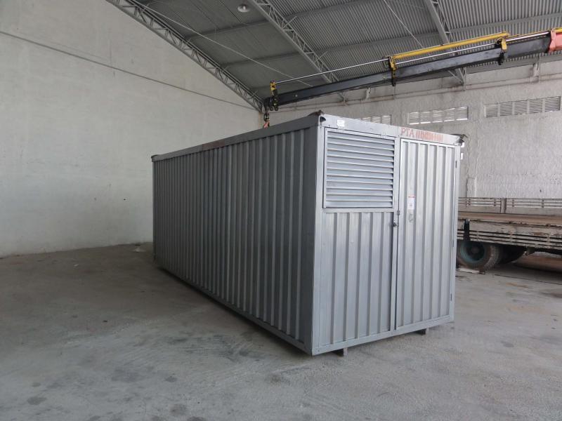 Container com revestimento