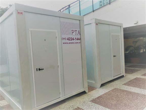 Container termo acústico sp