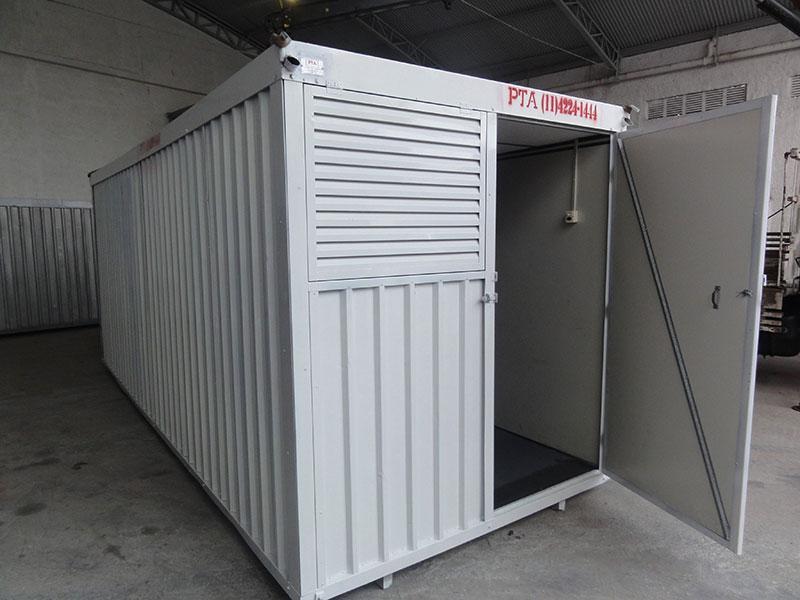 Locação de Container para Escritório
