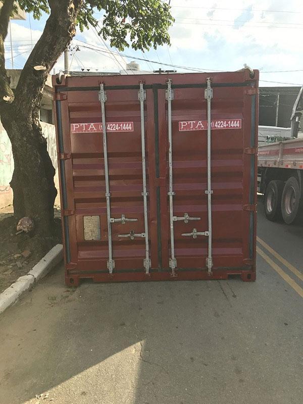 Locação de container marítimo sp