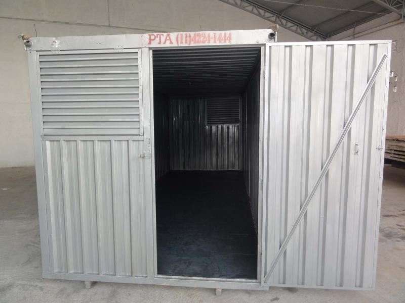 Locação de container sp preço