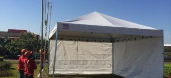 Tenda piramidal 10x10 venda